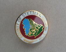 Country of Stettler No. 6 Alberta Canada Lapel Souvenir PIN