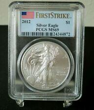 USA 2012 Eagle / Liberty First Stike 1 Dollar 1 Unze Silber PCGS MS 69 - TOP!