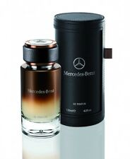 Mercedes Benz Le Parfum in Leather Case EDP For Men 120ml / 4.0oz New & Sealed