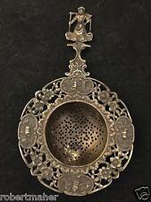 Antique Dutch Silver Tea Strainer MAKE ME AN OFFER!!!