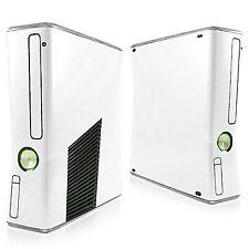 Xbox 360 Slim Ceramic White Skin Vinyl Decal Facelift Sticker Xbox Protector
