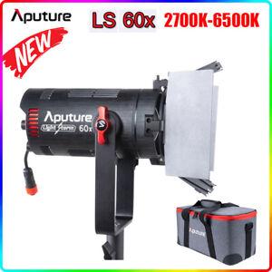 NEW Aputure LS 60X 80W Studio LED Light Bi-color Photography Lighting 2700-6500K