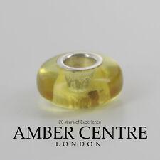 Amber Trolls fits all charm bracelets Green Baltic Amber 925 Ag RRP£35!!! CHA53