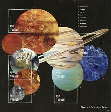 Tuvalu 2014 MNH Solar System Mars Venus Jupiter 6v M/S Space Planets Stamps
