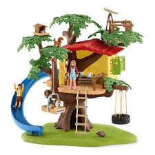 42408 Schleich Adventure Tree House Farm World Playset & Plastic Figure Animals