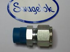 "1 - Swagelok Carbon Steel Connector Fitting, 1/2"" Tube x 3/8"" MNPT,  S-810-1-6"