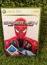 X Box 360 Spider-Man web of shadows