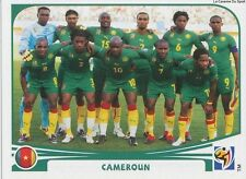 N°391 TEAM SQUADRA # CAMEROON STICKER PANINI WORLD CUP SOUTH AFRICA 2010
