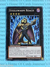 Yu-gi-oh Steelswarm Roach CT09-EN021 Super Rare Mint Limited Edition New