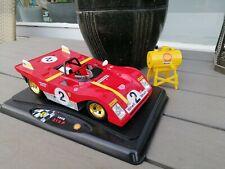 1/18 FERRARI 312 P DIECAST  / Mario Andretti / JACKY ICKX /& SHELL TANK RARE