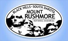 MOUNT RUSHMORE National Memorial Park S. Dakota Oval Bumper Sticker Travel Decal