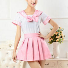 Fashion Cosplay Japanese School Girls Dress Outfit Sailor Uniform Anime Costumes