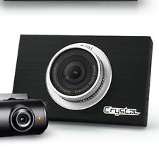 FineVu CRTSTAL 2CH Car Dashcam (32GB) - ADAS+LDWS+FCWS+FVMA+NIGHT VISION