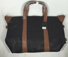 Forever 21 Black And Tan Hand Bag Purse Tote New With Tags Nice Ships Fast