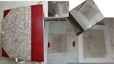 DU BEC D'AMBEZ SAINTE FOY GIRONDE - 50 LETTRES MANUSCRITES SOLDATS AN II - 1793