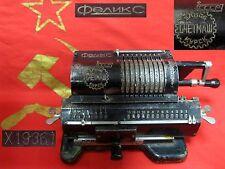 USSR SOVIET RUSSIAN ADDING MACHINE ARITHMOMETER FELIX mechanical calculator