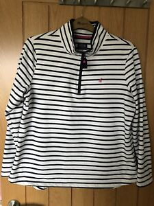 Joules Striped Sweatshirt - Size 18