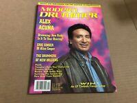 OCT 1990 MODERN DRUMMER vintage music drum magazine ALEX ACUNA