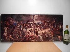 Gravure vintage année 70 tableau ancien peinture peintre italien Tintorreto 16th