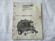 New Holland 851 round baler operator's manual
