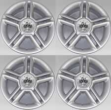 "SET OF FOUR GENUINE VOLKSWAGEN 17"" 5X100 'BI TURBO' 5 SPOKE BBS ALLOY WHEELS X4"