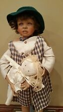 "Kaye Wiggs 26 "" Doll with stuffed doll 1997 189/3000"