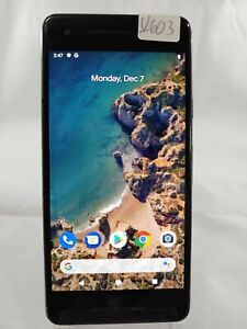 Google Pixel 2 G011A 64GB AT&T T-Mobile GSM Unlocked Smartphone Cell Black U603