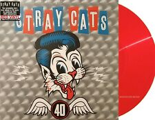 STRAY CATS LP 40 RED Vinyl 180 Gram Limited Edition 2019 + Download IN STOCK !