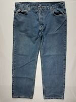 Carhartt 42 X 31 Men's Traditional Fit Cotton Denim Blue Jeans (Tag 44 X 32)