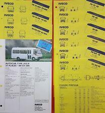 Catalogue / Brochure / Fiche technique Iveco Gamme légére   X10