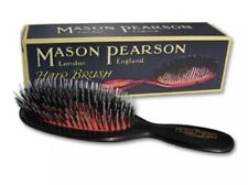 Mason Pearson Pocket Bristle & Nylon - BN4 Dark Ruby Authentic Ship From USA