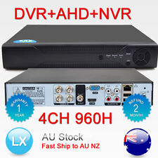 H.264 3in1 DVR+AHD+NVR 4ch DVR Cctv Security Digital Video Recorder Hybrid HDMI