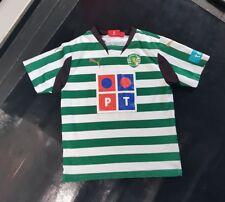 Maillot jersey maglia camiseta trikot shirt Ronaldo sporting lisbonne portugal 8