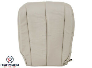 For 2006 Nissan Murano - Driver Side Bottom Replacement Leather Seat Cover Tan