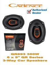 "6x9"" 3 Way 360 Watt Tweeter QR Series Car Audio Speakers Cadence QR693 (Pair)"