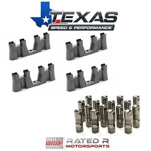 Texas Speed GM LS7 Lifters & Lifter Trays Fits LS1 LS2 LS3 4.8 5.3 5.7 6.0 6.2