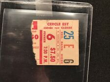 Led Zeppelin Montreal Forum 1975 ticket stub and travel voucher Toronto