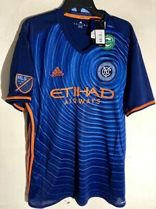 Adidas MLS Jersey New York City FC Blue sz L