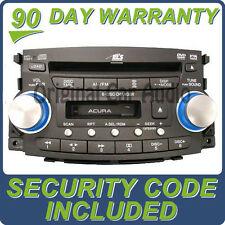 04 ACURA TL Radio Stereo 6 Disc CD Player Changer Navigation 1TB0 39100-SEP-A400