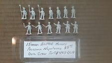 15mm  Battle Honors Prussian Napoleonic Gun Crew