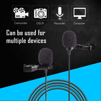 BOYA BY-LM300 microphone Dual Lavalier Omnidirectional capacitor for DSLR camera