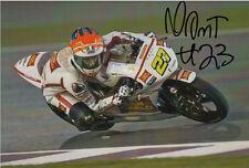 NICCOLO ANTONELLI Mano Firmata San Carlo Gresini Honda 7x5 FOTO MOTO3 2.