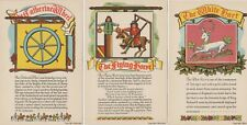Inn Signs. Art cards by Trust Houses Ltd. Set of 8. Very Scarce in set.