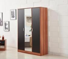 Walnut Wardrobes with Mirrors