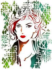 Stamperia Woman Stencil A4    21 x 29.7 cm