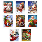 Christmas Gifts 5D Diamond Painting Kits Festival Decor Santa Claus Full Dr xe