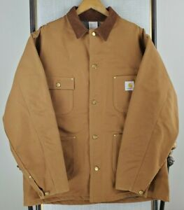 Size XL Man Jacket Carhartt Fairmount Coat Cypress