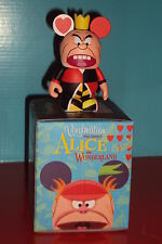 SEALED IN BAG! Vinylmation Queen of Hearts Alice in Wonderland Series Disney