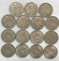 FLORIN / TWO SHILLINGS DATE RUN SETS FROM 1920 TO 1967 CHOOSE YOU DATE RUN