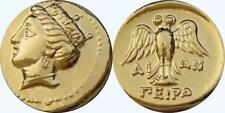 Tyche Goddess of Luck and Fortune Greek Coins, Percy Jackson Teen Gift (PJ6-G)